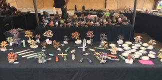 Vendor Table at J&J Gems