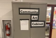 The community Art Cabinet