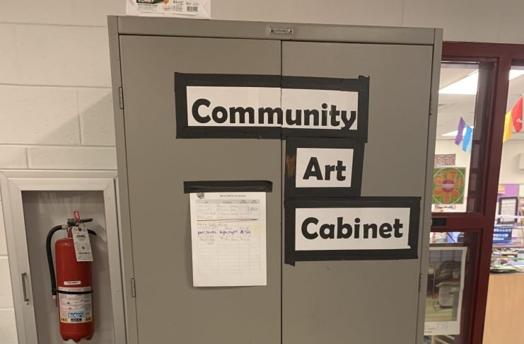 The community Art Cabinet
