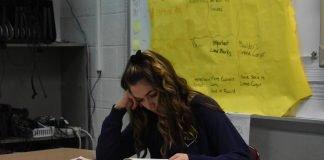 Student Carissa Zawiski; Photo provided by Tyler Hillard